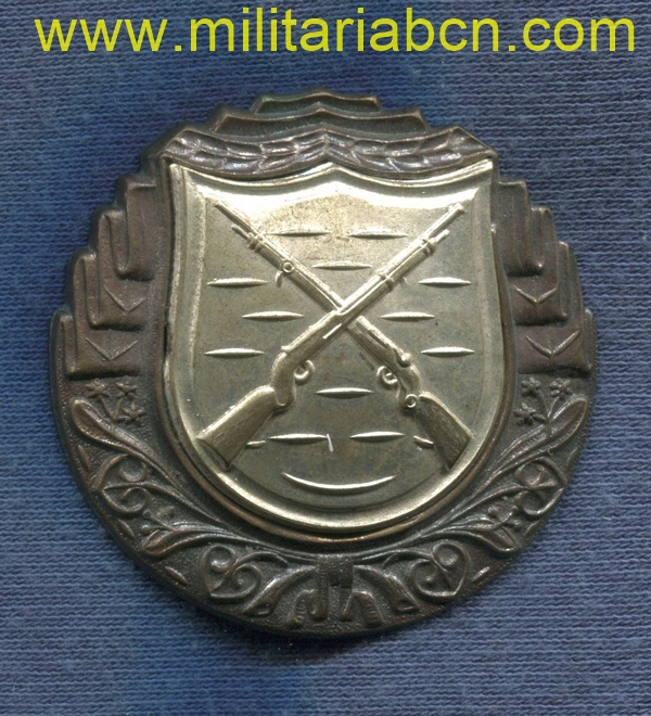 Militaria Barcelona czech reoublic markmans shooting badge