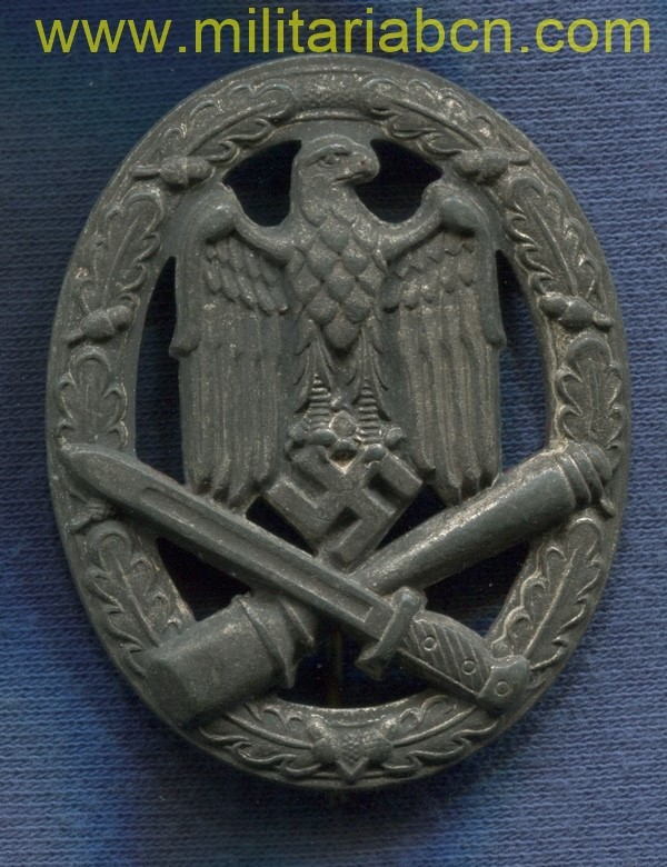 Germany III Reich. Germany Assault badge. Allgemeines Sturmabzeichen. German award second world war.
