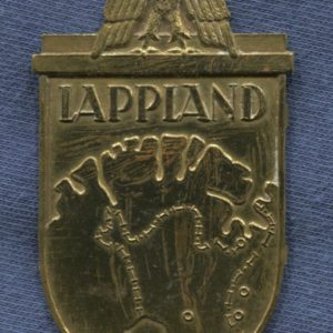 Germany III Reich. Lappland badge. Model 1957. Manufacture by veterans. German award second world war.