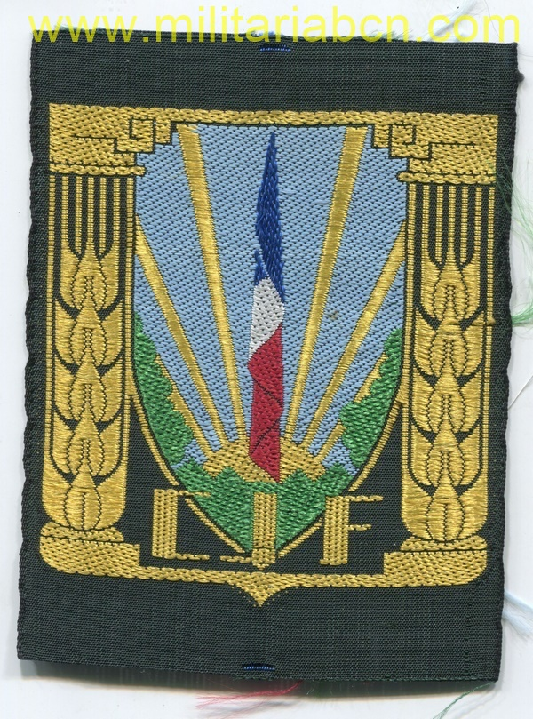 France. Badge Chantiers de la Jeunesse. Vichy Government