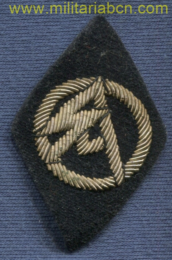 badge for Officer's for former SA members in the SS Totenkopfverbände