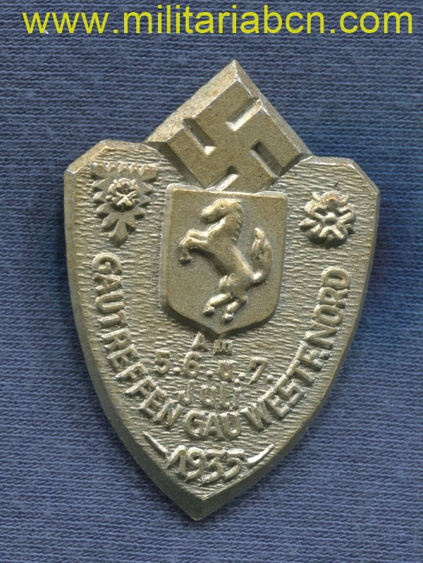 Gautreffen Gau Westfalen Nord badge
