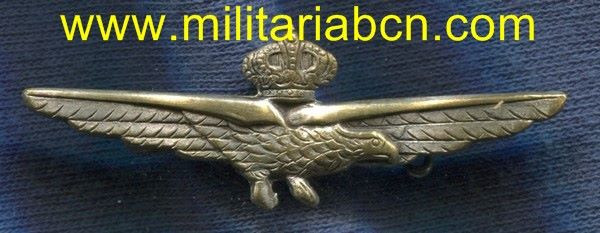 Militaria Barcelona WW2 Italy pilot wing
