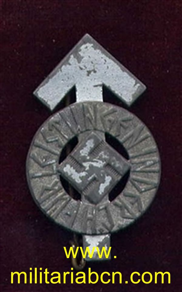 Germany III Reich. Hitler Youth Proficiency badge. Silver grade. HJ-Leistungsabzeichen in Silber