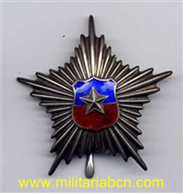 Militaria Barcelona chile long service star