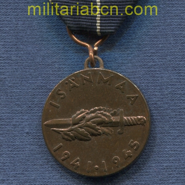 Finland. War Medal against the USSR 1941-45. Swedish text for Swedish volunteers. militariabcn.com