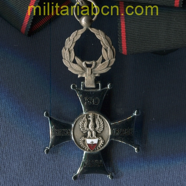 Poland. Commander of the Order Pro Vestra et Nostra Libertate. militariabcn.com