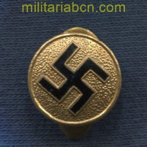 Germany III Reich. Lapel badge with the svática. Before 1945. 16mm.