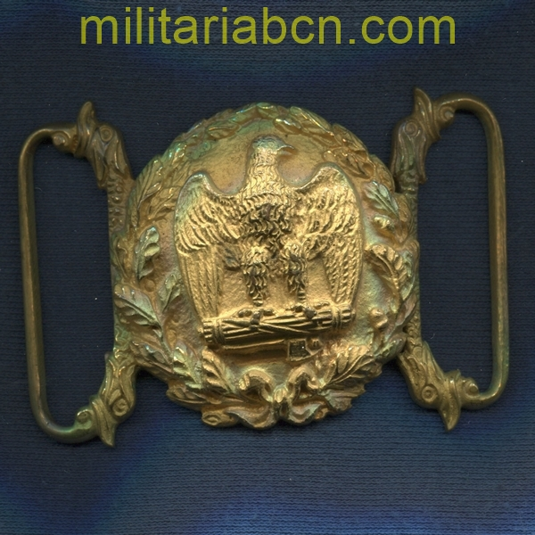 Official Buckle of the MVSN Milizia Volontaria per la Sicurezza Nazionale. Model 1937. militariabcn.com