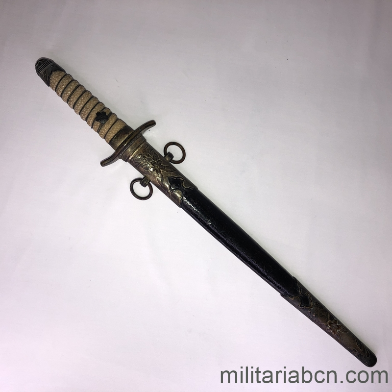 Dagger of the Japanese Navy model 1883. militariabcn.com