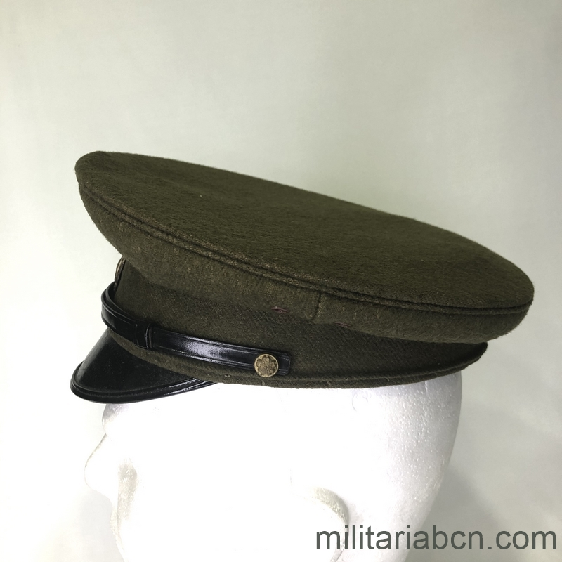 Militaria Barcelona Japan. Visor cap Military Police. 2nd World War. lat