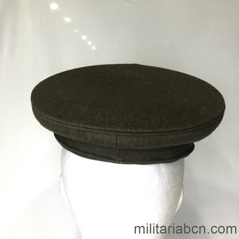 Militaria Barcelona Japan. Visor cap Military Police. 2nd World War. lat2