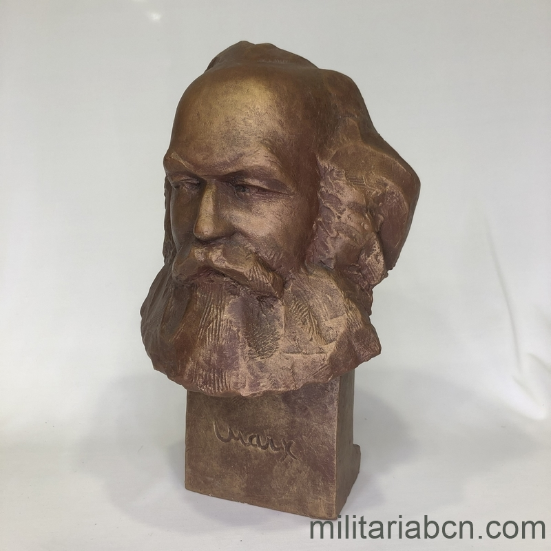 Bust of Karl Marx militariabcn.com