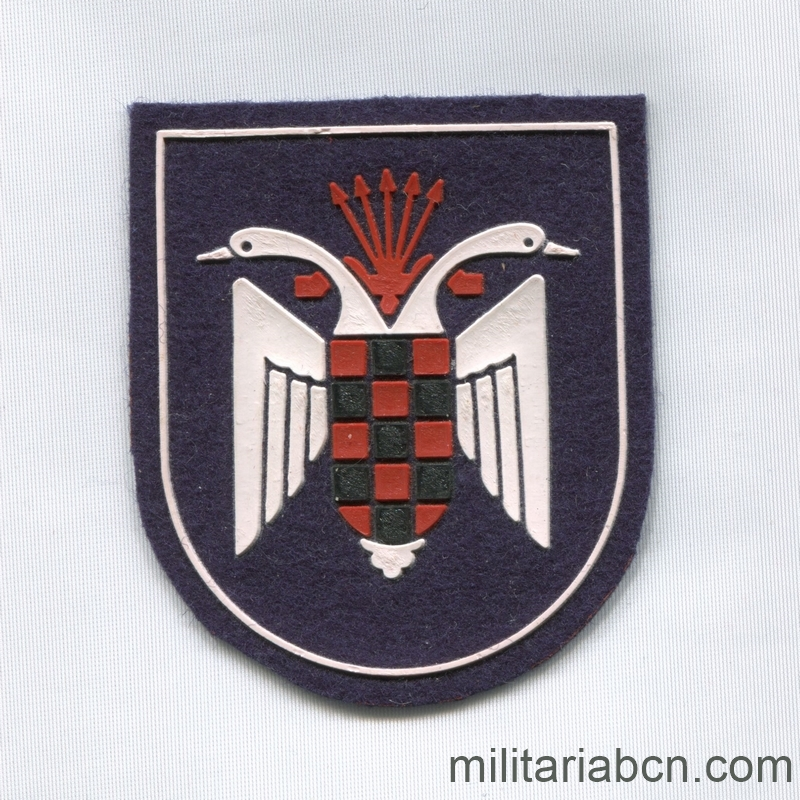 OJE Spanish Youth Organization. Patch of Cadets and Guides militariabcn.com