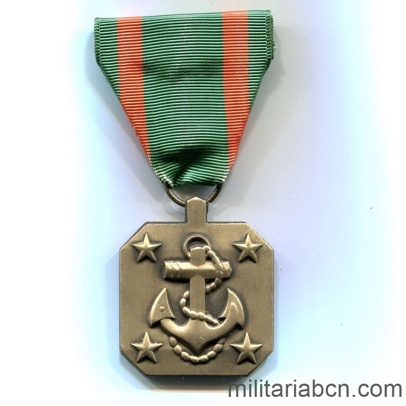 Militaria Barcelona USA. Navy Achievement Medal.  ribbon