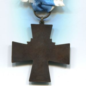 Militaria Barcelona Blue Cross w/ 1917-1918 bar, these were awarded to the Civil Guard members who participated the Finnish civil war. Reverse