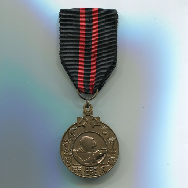 Militaria Barcelona Finland. Commemorative Medal of the Winter War. Variation for Swedish volunteers Ribbon