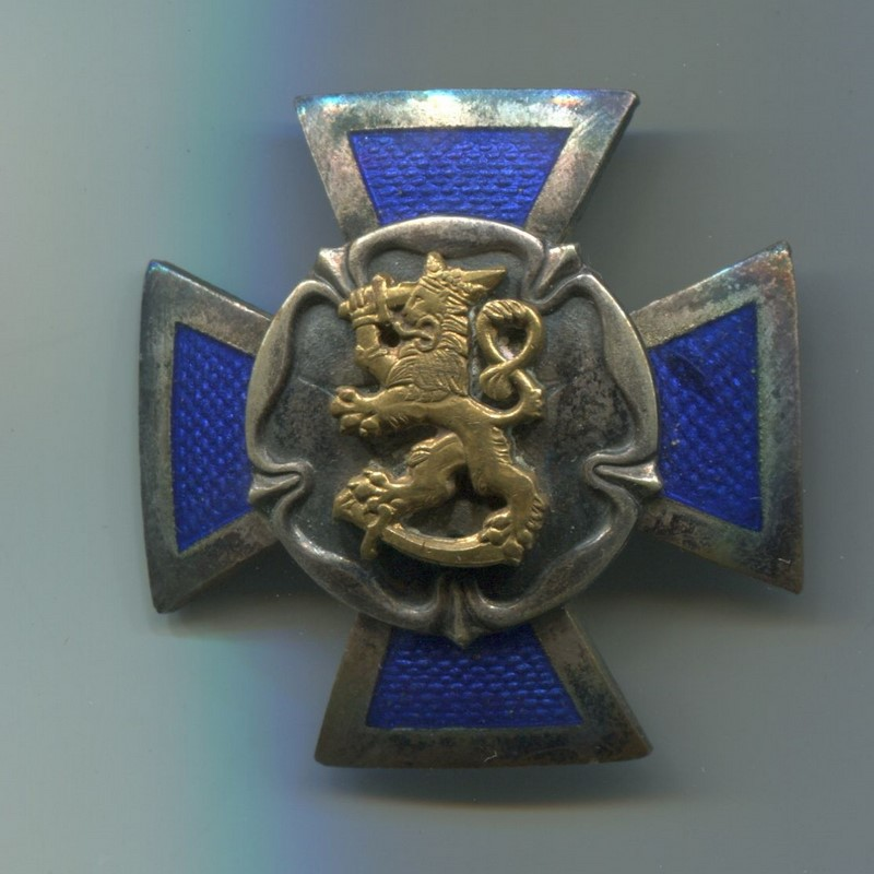Militaria Barcelona Finland. Reserve Officers' School Badge. The Reserve Officers' School, in Hamina, located in the province of Southern Finland, is the unit responsible for the training of the Finnish Reserve Officers.