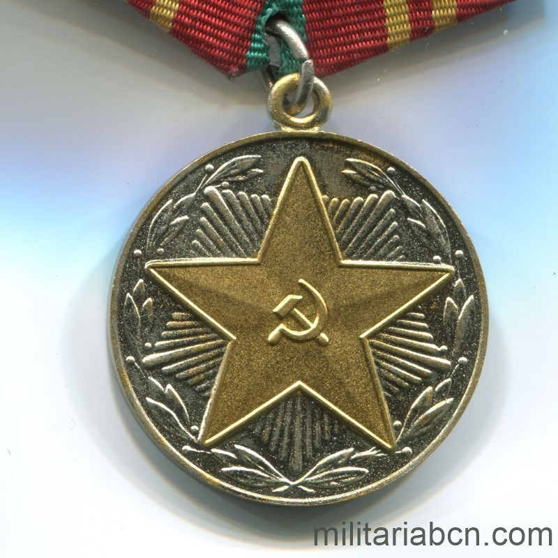 USSR Soviet Union Irreproachable Service medal fire department 15 years