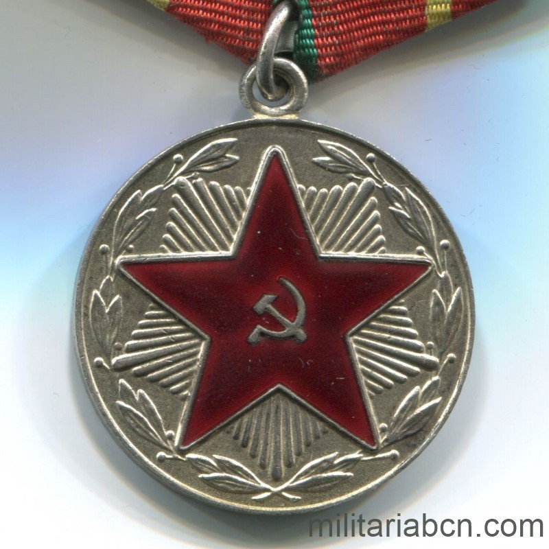 USSR Soviet Union Medal for irreproachable service moop Belarus 20 years