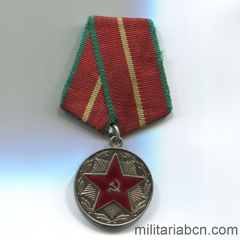 USSR Soviet Union Medal for irreproachable service moop georgia republic