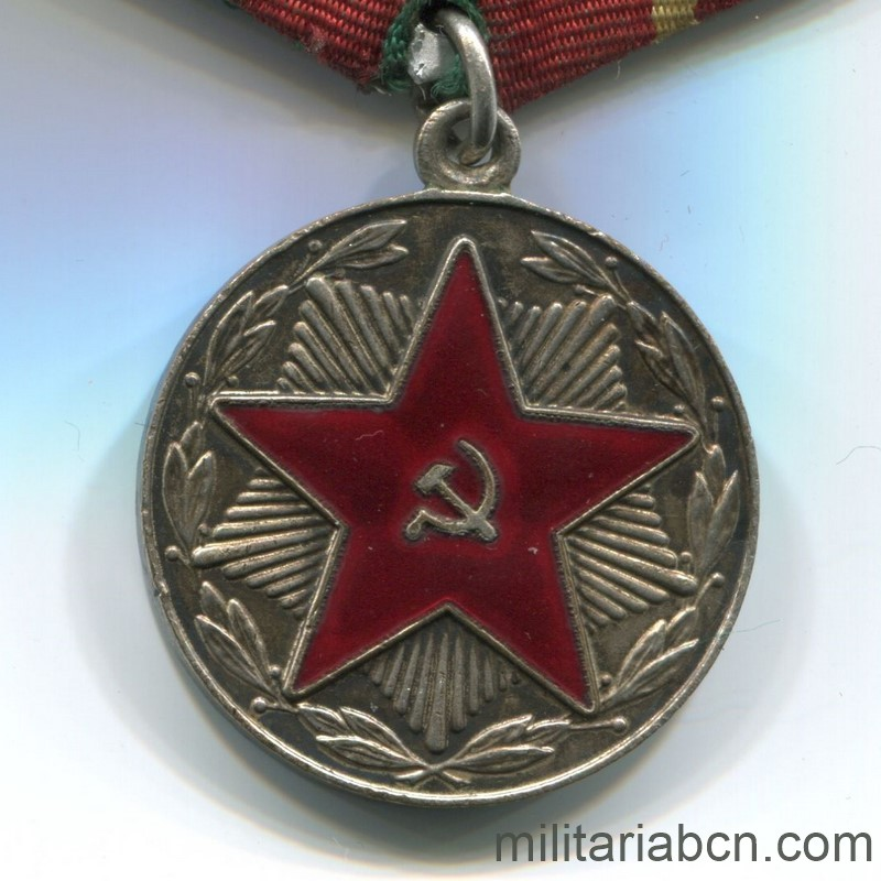 USSR Soviet Union Medal for irreproachable service moop georgia 20 years
