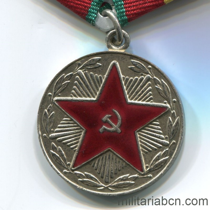 USSR Soviet Union Medal for irreproachable service moop kazakhstan 20 years