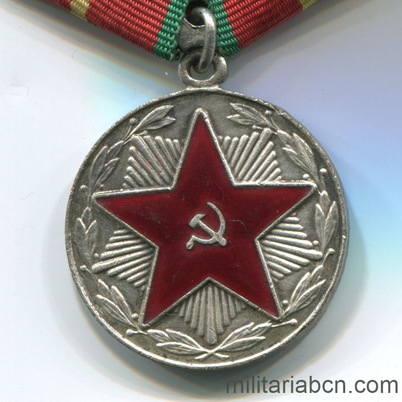 USSR Medal for irreproachable service mvd russia 20 years