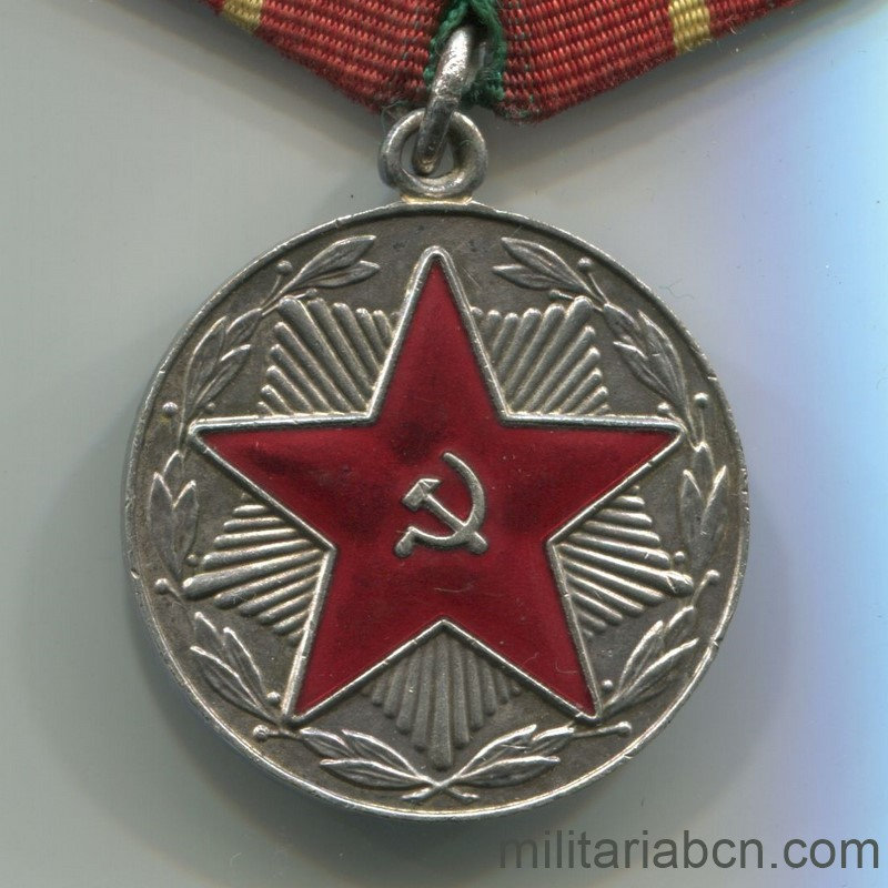 ussr soviet union medal for irreproachable service moop 1st class
