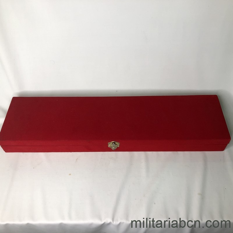 Militaria Barcelona Militaria Barcelona Thailand Army Officer Gala Dagger With presentation box awarded to a Captain of the Spanish Navy. box