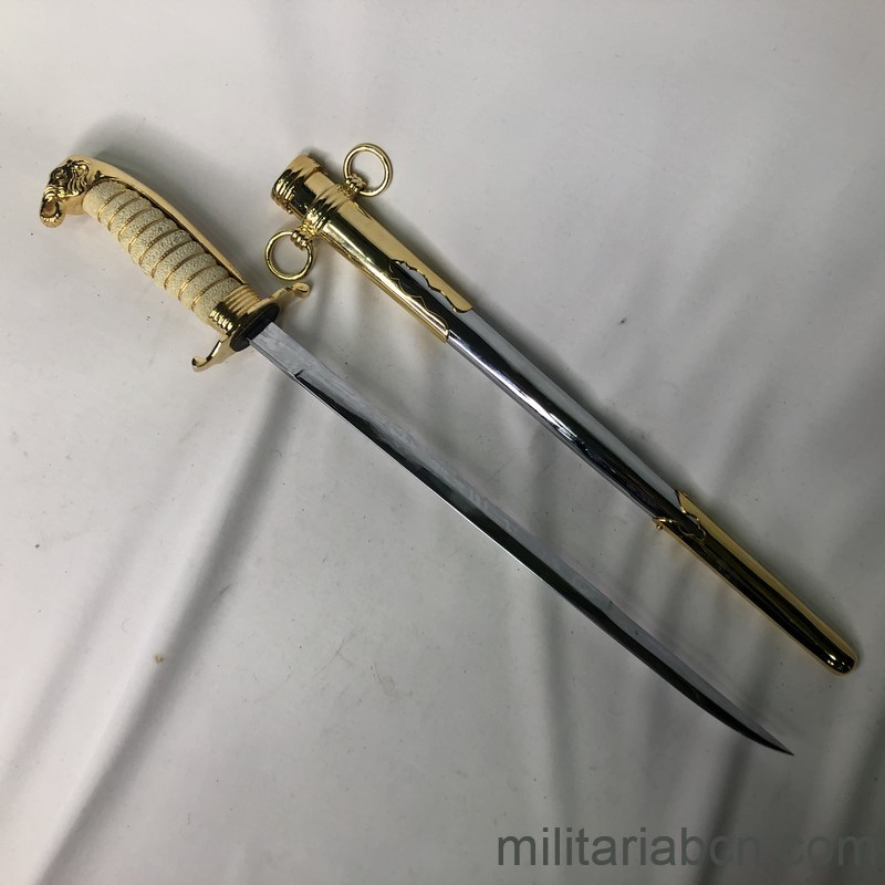 Militaria Barcelona Militaria Barcelona Thailand Army Officer Gala Dagger With presentation box awarded to a Captain of the Spanish Navy. blade