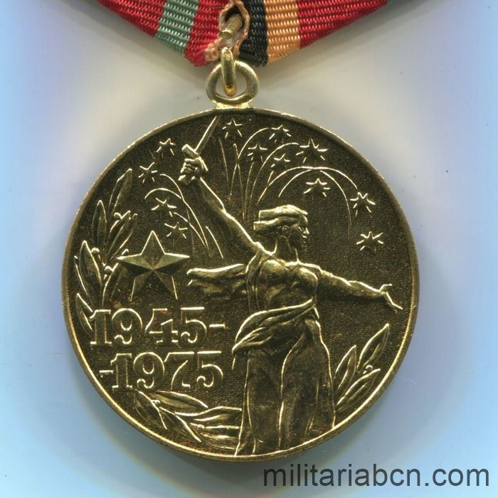 USSR Soviet Union Medal for 30th Anniversary of Victory over Germany, Version to a Foreigner