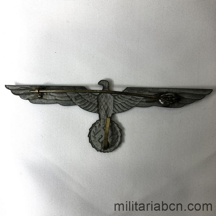 breast german eagle ww2 uniform back