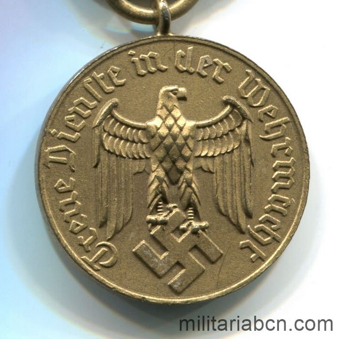 Germany III Reich. Long Service Medal in the Wehrmacht. 12 years.