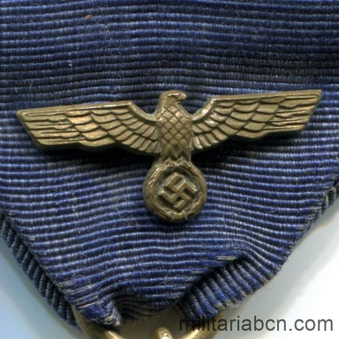 Germany III Reich. Long Service Medal in the Wehrmacht. 12 years. eagle