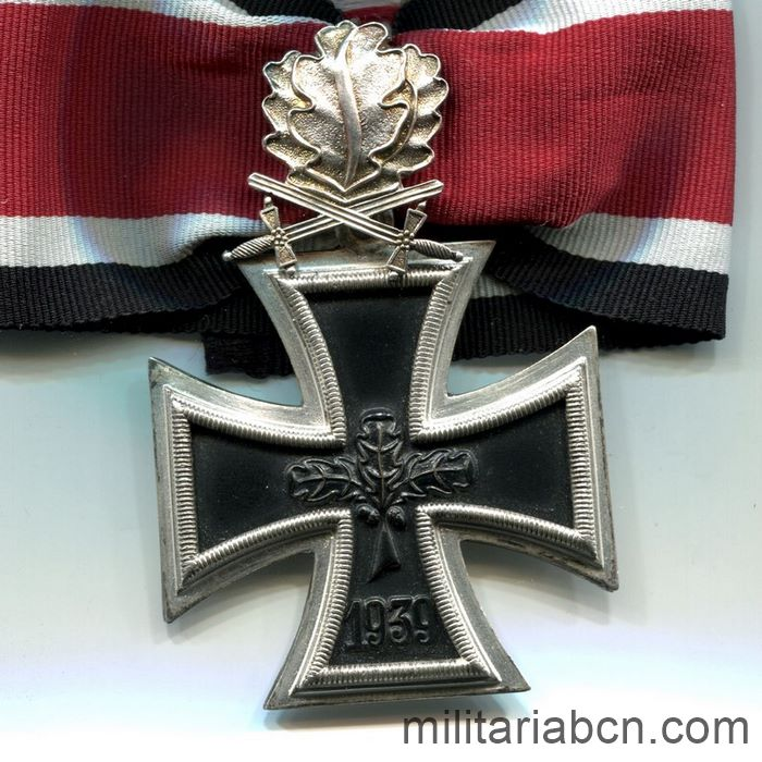 Germany. Knight's Cross of the Iron Cross with Oak Leaves and Swords. Model 1957