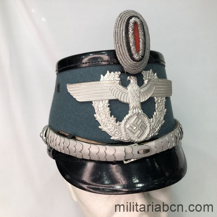 Germany III Reich. Police Officer Shako