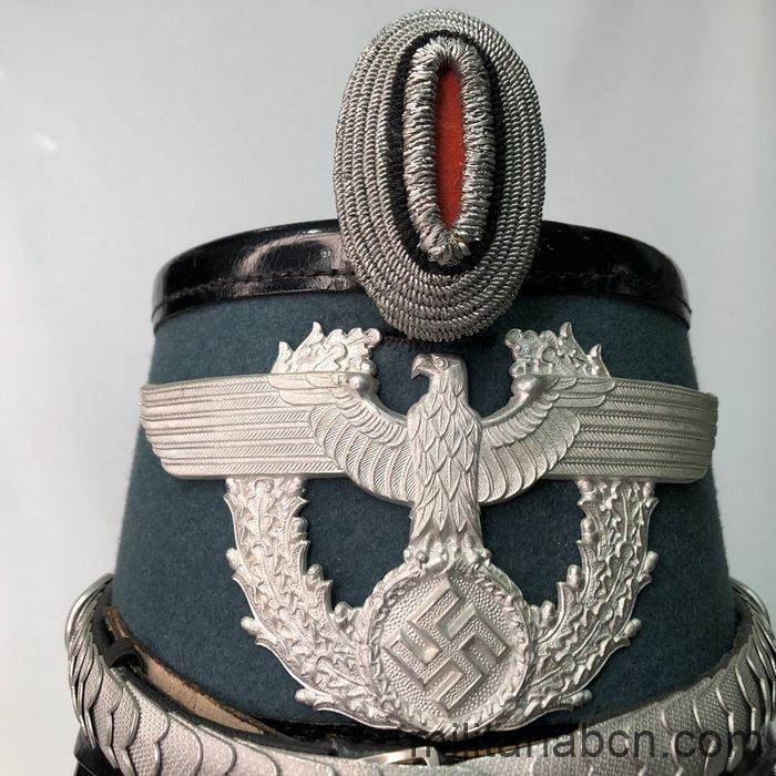 Germany III Reich. Police Officer Shako. Eagle