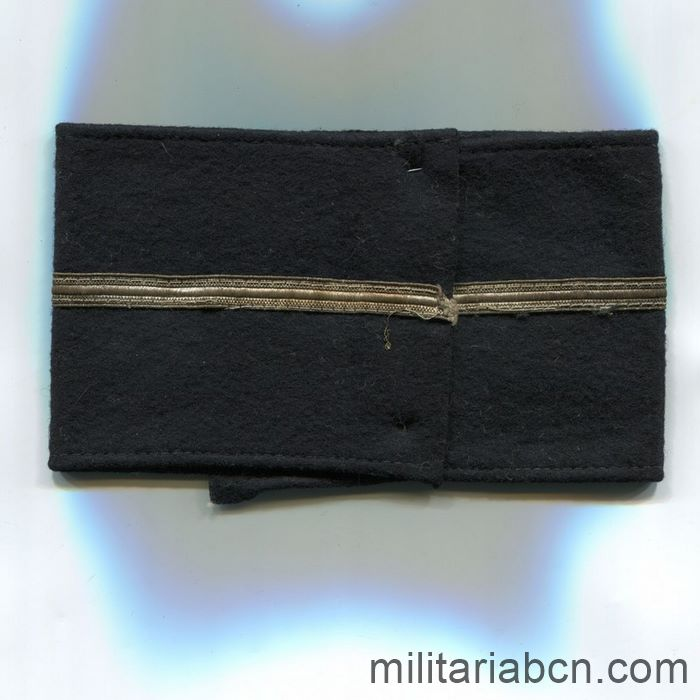 Germany III Reich. Kyffhäuserbund armband. League of German National veterans  association back