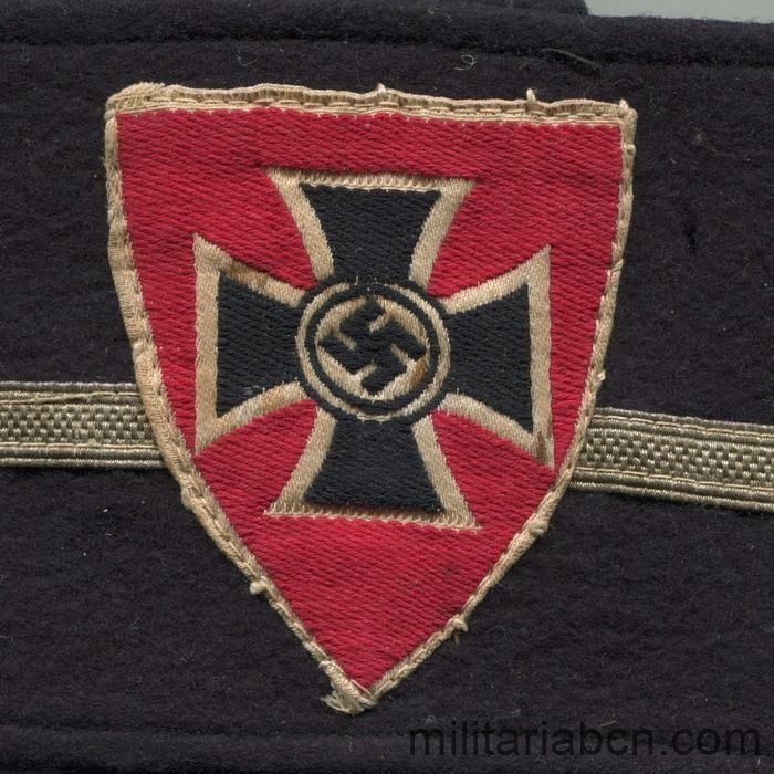 Germany III Reich. NS-RKB armband, Nationalsozialistische-Reichskriegerbund center