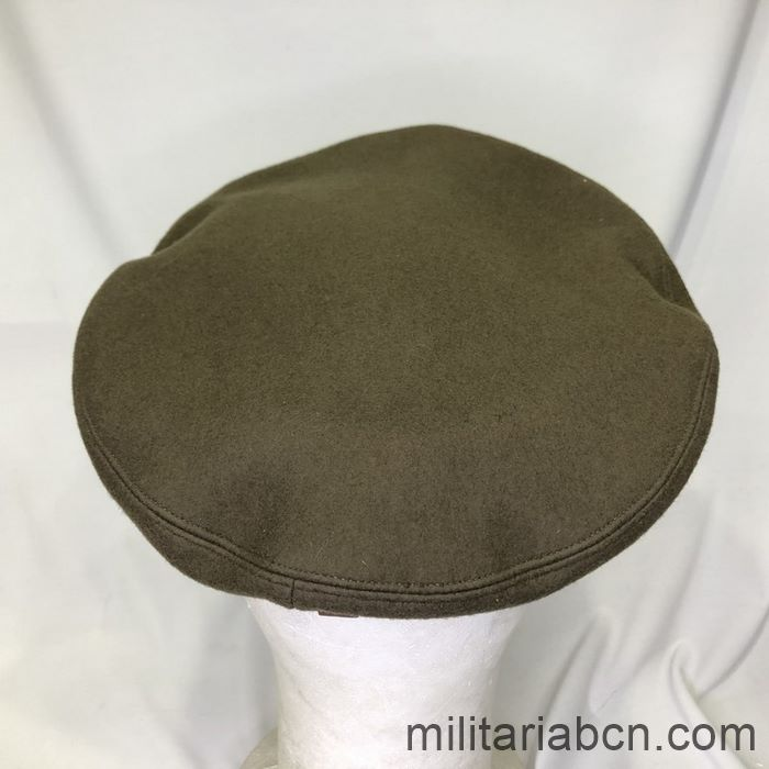 U.S. Army Officer's visor cap. Second World War. WW2. Complete, size 7 1/8. Top