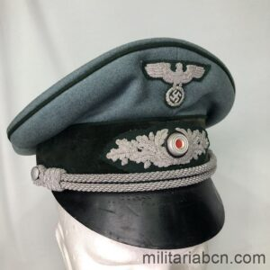 Germany III Reich. Officer's visor cap of the Heer Landfordtmeister. Forest Guards of the Heer