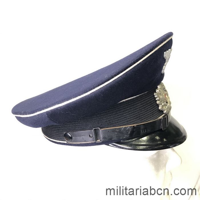Germany III Reich. Dark blue visor cap of the National Association of National Socialist Fighters (NSRKB) for former Infantry Fighters. Right