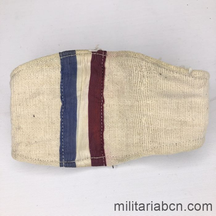 France. Armband of the Resistance or French Maquis. Second World War.