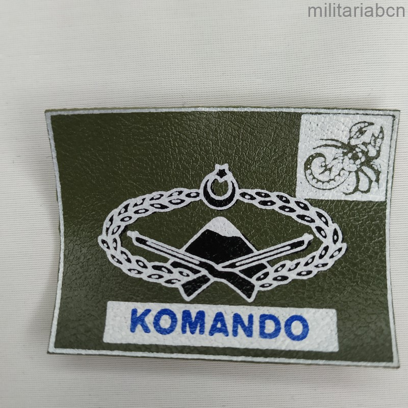 turkish komando army patch