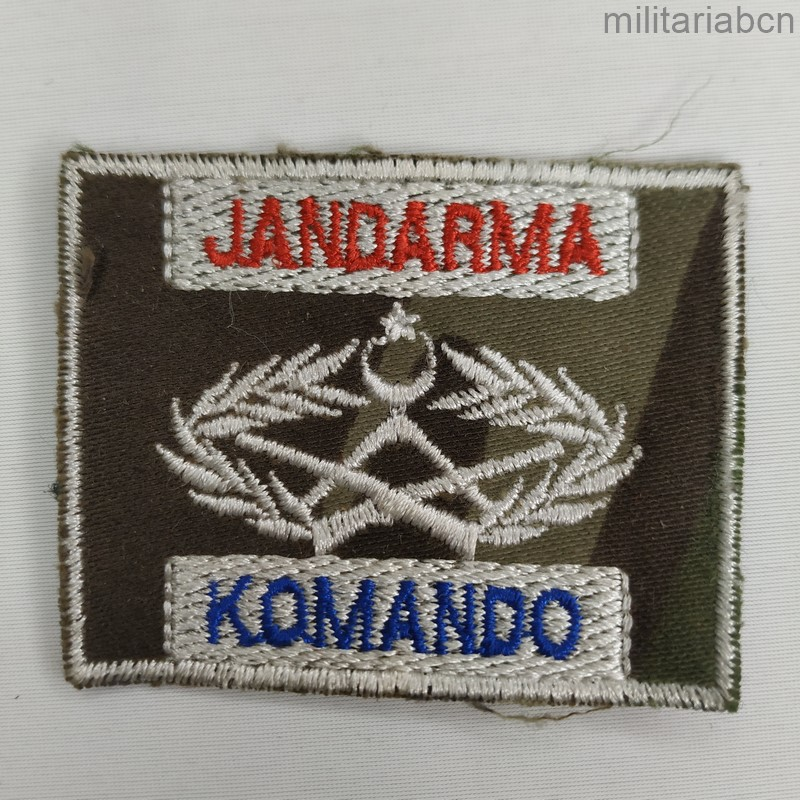 turkish special forces patch komando jandarma