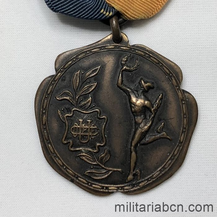UK. Sports medal. Football Championship 1917. Engraved on the reverse