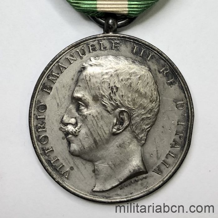 Commemorative Medal for the Earthquake of 1908 in Calabria and Sicily