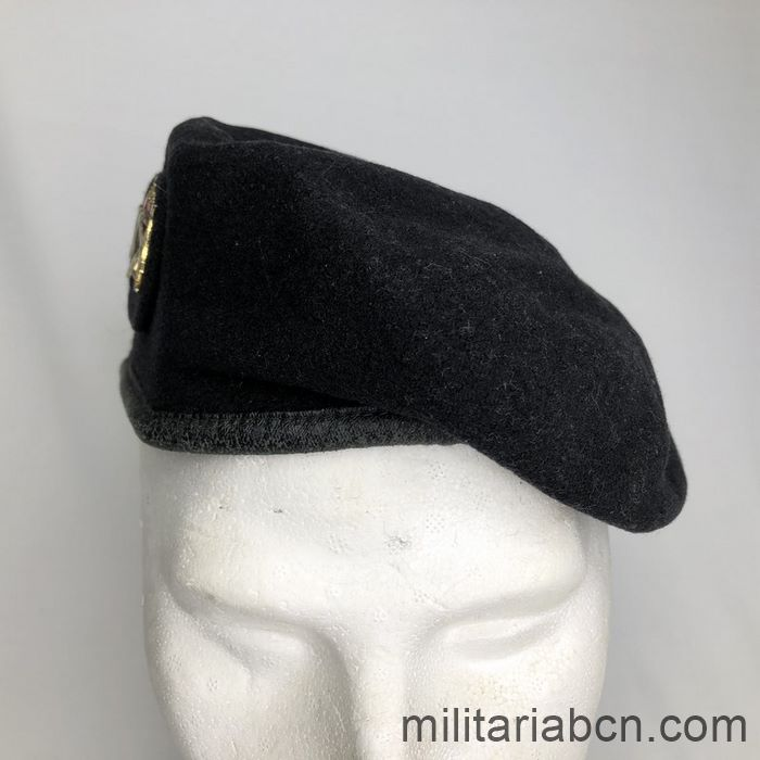 Spain. Armoured Corps Beret. 90s front