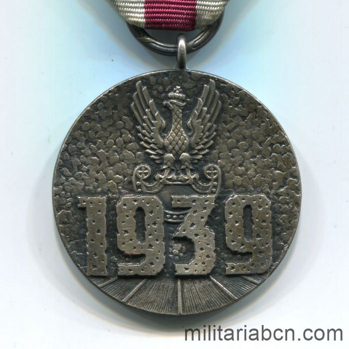 Poland. Medal for Participation in the Defensive War of 1939.